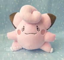 Pokemon: Clefairy by sugarstitch