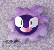 Pokemon: Gastly by sugarstitch