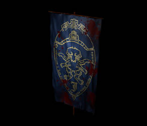 Jackalien Flag WIP by Garsondee