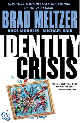 Identity Crisis Printed Cover by RagsMorales