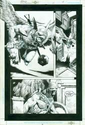 Hawkman No.21 pg. 18 by RagsMorales