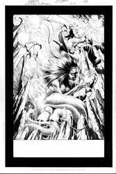 Wonder Woman No. 215 pg.22 by RagsMorales