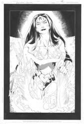 Wonder Woman Splash Page by RagsMorales