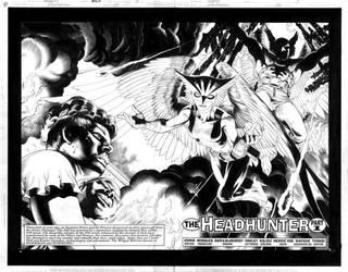 Hawkman No.20 pg. 2+3 by RagsMorales