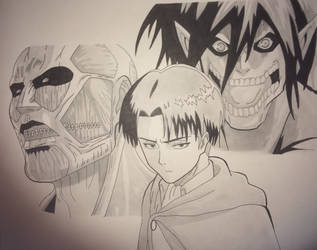 Attack on Titan by Lacronix-12