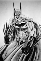Batman by thechikwiththepencil