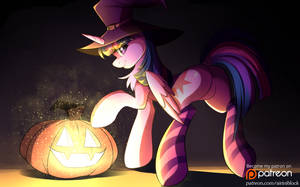Twilight Sparkle Halloween~ by AiriniBlock