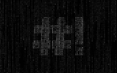 Crunchbang Matrix Wallpaper by envyouraudience