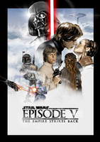 Star Wars Episode V: The Empire Strikes Back by ChristopherOwenArt