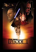 Star Wars Episode I: The Phantom Menace by ChristopherOwenArt