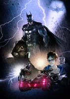 Batman Arkham Knight by ChristopherOwenArt
