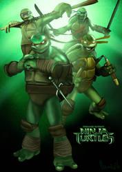 Teenage Mutant Ninja Turtles by ChristopherOwenArt
