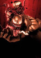 Symbiote Invasion by ChristopherOwenArt