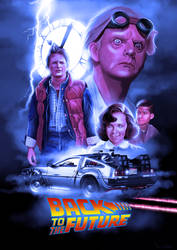 Back to the Future by ChristopherOwenArt