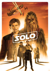 Solo: A Star Wars Story by ChristopherOwenArt