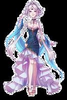 Goddess Fysaera - Golden Seashell by Chance-To-Draw
