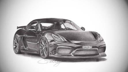 Porsche GT4 by SallyBJD