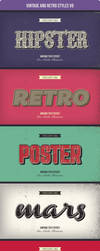 Vintage and Retro Styles V9 by Minhaj-94