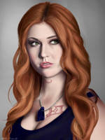 Shadowhunters- Clary- Katherine McNamara by CaityKitty13