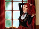 RWBY- Pyrrha Nikos by CaityKitty13