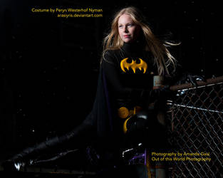 Stephanie Brown - Batgirl - 5 by Arasiyris