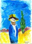 Vincent Van Gogh by Mikiel