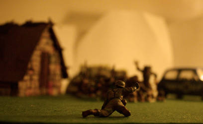 soldier minature by Mikiel