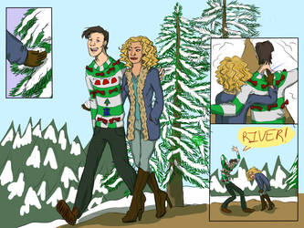 3rd day of Christmas - Snow by MZandraMayhugh