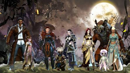 Guild Wars 2 Wallpaper by Neonila