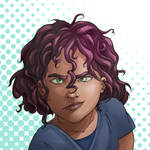 Karin! And curls! Annoying curls! by Neonila