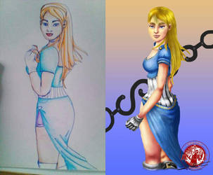 traditional to digital art by MyrvanaMiseria