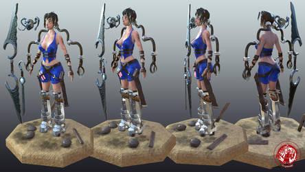 Artemis (OC) _T-pose by MyrvanaMiseria