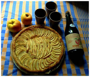 Apple day by Ysydora