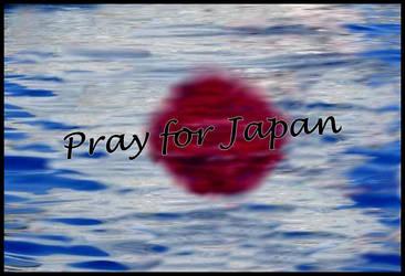 Pray for Japan by Ysydora