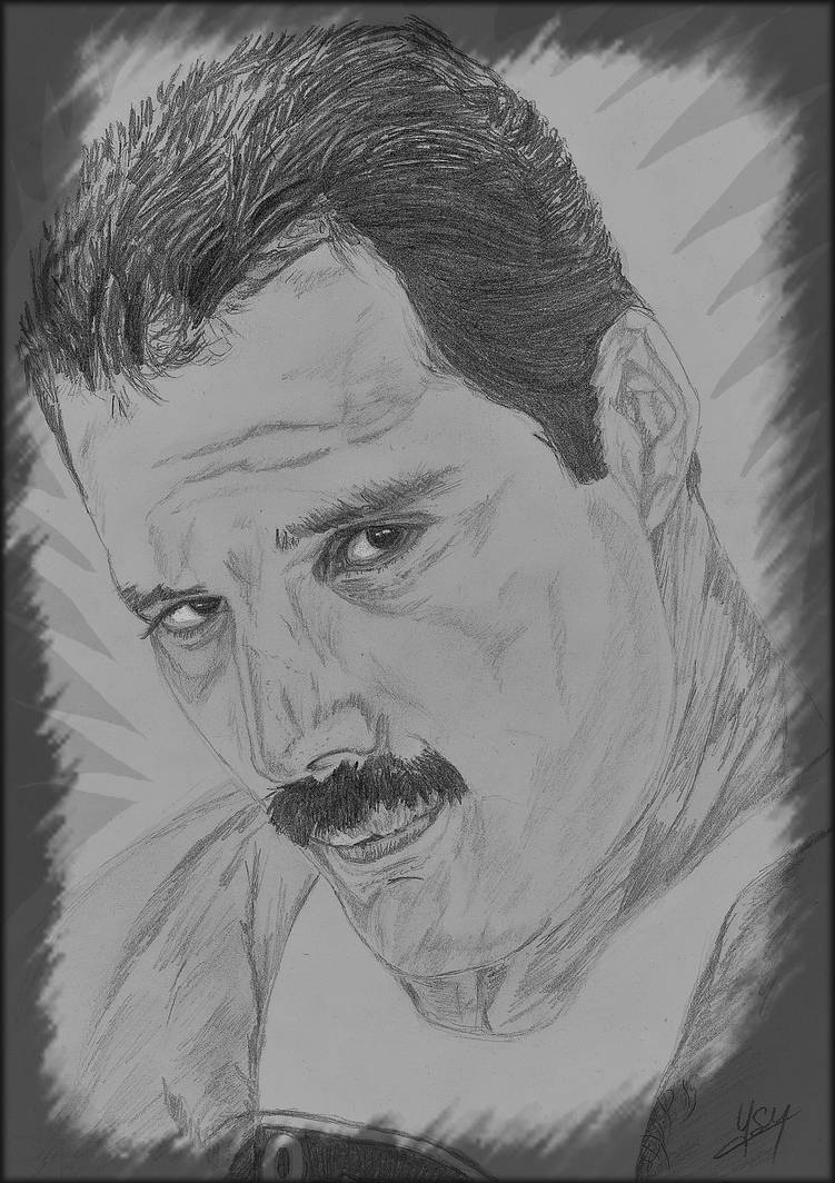 Freddie Mercury-Queen: You are the Champion by Ysydora
