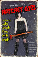 HATCHET GIRL by Grim-Clavera