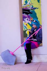 Ramona Flowers- Ex's are a bummer by sayuri13