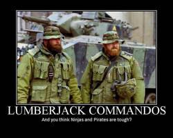 lumberjack commandos by yq6