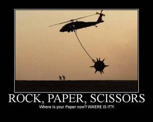 rock, paper, scissors by yq6