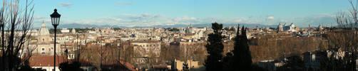 Panorama Roma by silvernocks