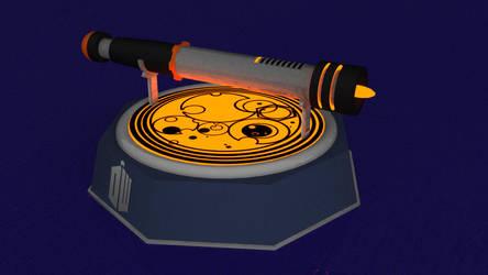 Sonic Screwdriver Mark IX by silvernocks