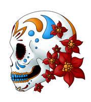 Tattoo Design - Sugar Skull by RestEnPeace