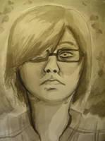 Self Portrait Practice by RestEnPeace