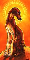 Desert Huntress by CanisAlbus