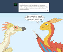 Ask a Monster - 48 by SylxeriaGuardian