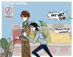 Weekend Shopping by Alloween
