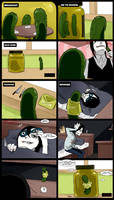 Creepypasta Cafe : Pickle the kiler by Alloween