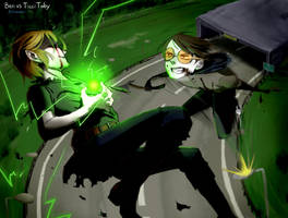 Ben Drowned vs Ticci Toby by Alloween