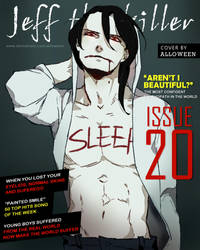 Jeff the Killer: issue 20 (plus contents!) by Alloween