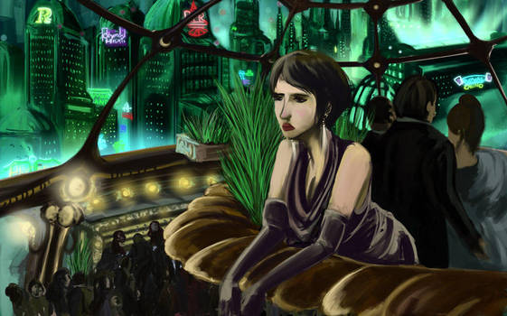 Alone on New Years in Rapture by Petitecreme
